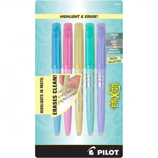 PILOT FRIXION HIGHLIGHTER 5-PACK