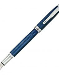 CONKLIN HERRINGBONE NAVY BLUE FOUNTAIN PEN