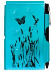 WELLSPRING FLIP NOTE BLUE BUTTERFLY # 2209