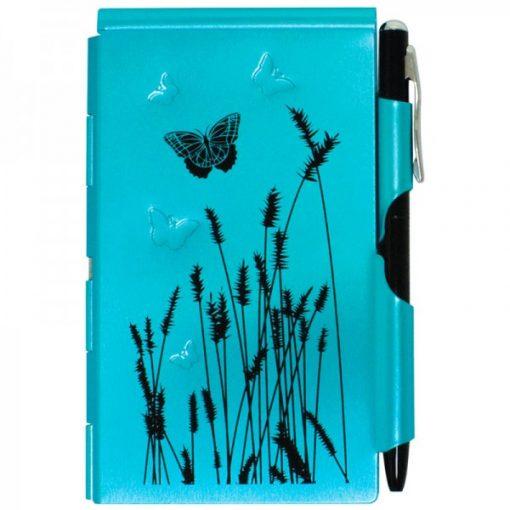 WELLSPRING FLIP NOTE BLUE BUTTERFLY # 2209