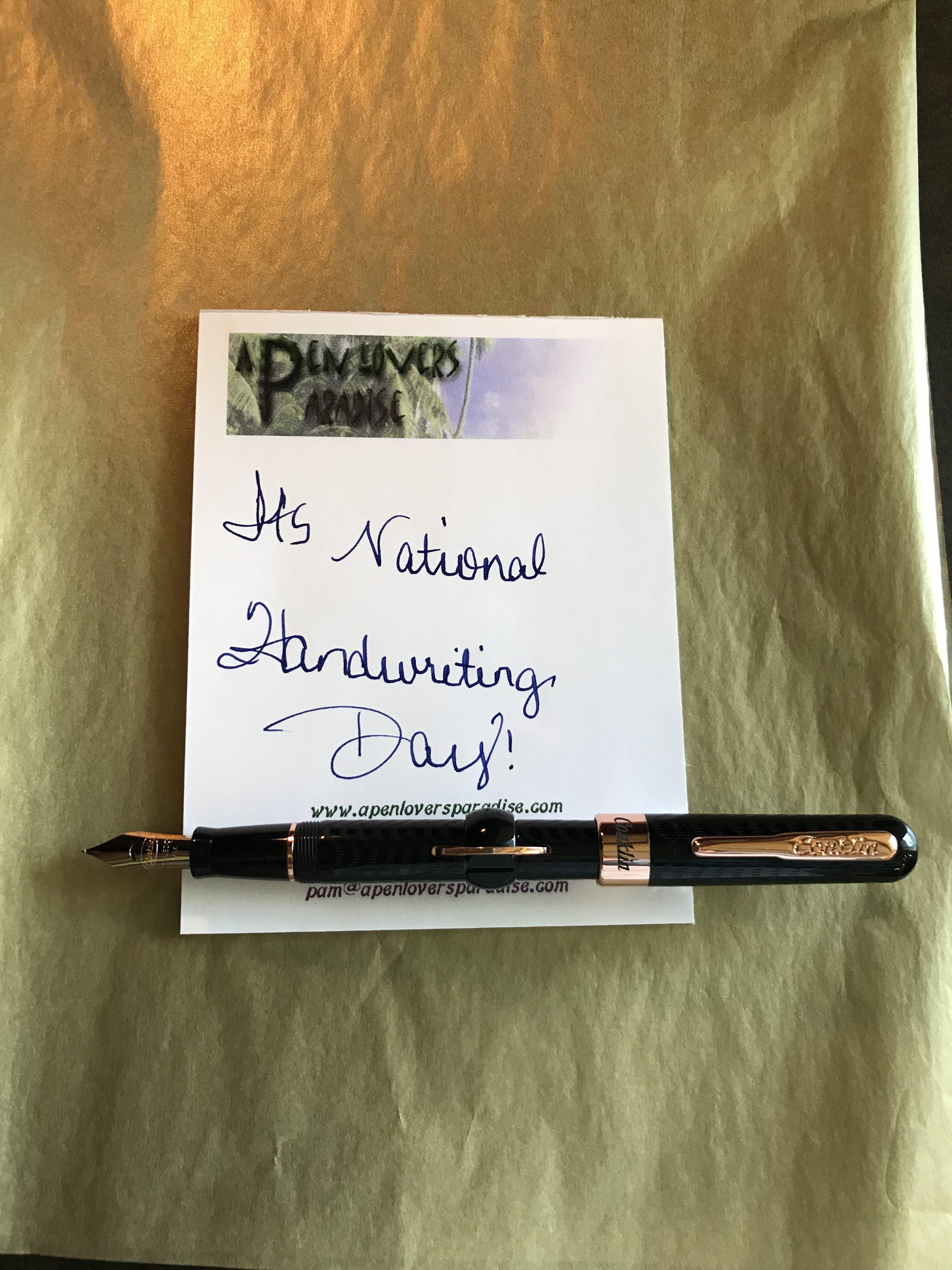NATIONAL HANDWRITING DAY