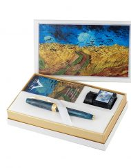 VISCONTI WHEATFIELD WITH CROWS FOUNTAIN PEN SET