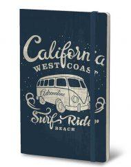 STIFFLEXIBLE NOTEBOOK CALIFORNIA BLUE