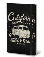 STIFFLEXIBLE NOTEBOOK CALIFORNIA RED
