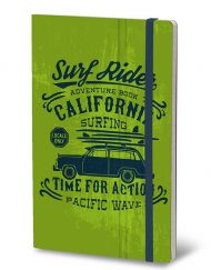 STIFFLEXIBLE NOTEBOOK ADVENTURE GREEN