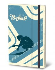 STIFFLEXIBLE NOTEBOOK BLUE WAVE