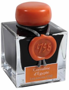 J HERBIN CORNALINE D'EGYPTE 1798 FOUNTAIN PEN INK