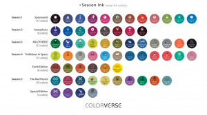 COLORVERSE 64 COLORS