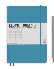 LEUCHTTURM1917 A5 NOTEBOOK NORDIC BLUE RULED