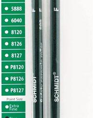 SCHMIDT 888F SAFETY CERAMIC ROLLERBALL REFILLS