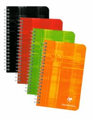 8606 CLAIREFONTAINE WIREBOUND NOTEBOOKS RULED 4 ¼ x 6 ¾