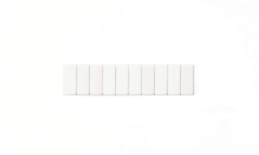 BLACKWING REPLACEMENT ERASERS WHITE