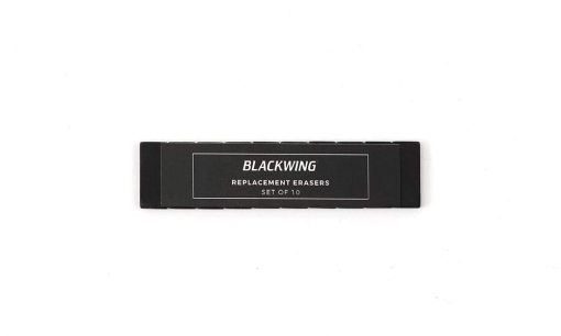 BLACKWING REPLACEMENT ERASERS BLACK