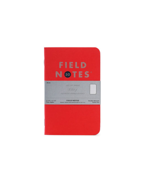 FIELD NOTES FIFTY
