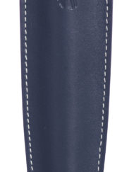 RECIFE LEATHER PEN POUCH NAVY BLUE