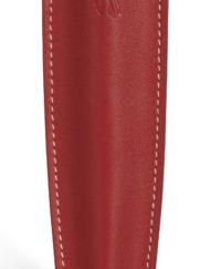 RECIFE LEATHER PEN POUCH RED